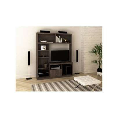 "Tecno Mobili ENTERTAINMENT WALL UNIT For Up To 50"" TV - OAK image 2"