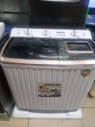Bruhm 7kg washing machine semi automatic image 1