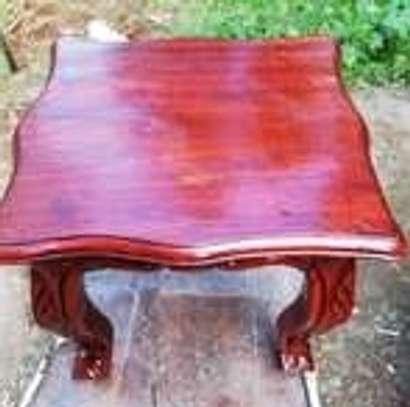 2Foot stools(Solid Mahogany) image 3