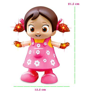 Dancing Girl Musical Fun Toy with Flash Light image 5