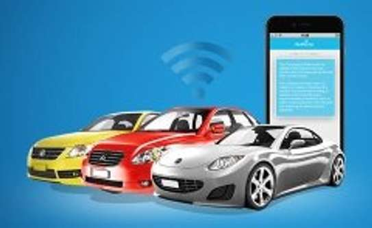 Car Track Tracker Installations Track with mobile phone