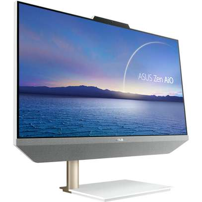 """ASUS 23.8"""" Zen AiO Multi-Touch All-In-One Desktop Computer (White) image 1"""