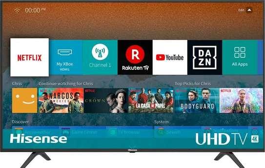 Brand new 55 inch hisense smart uhd 4k android tv image 1