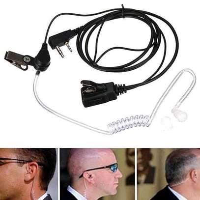 Transparent flexible acoustic tube walkie talkies image 1
