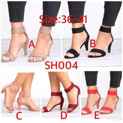 Ladies open shoes image 1