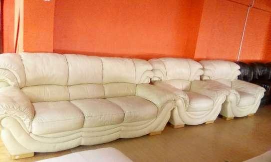 Leather Sofa ( 5 Seater) image 1