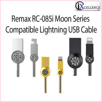 REMAX RC - 085i 8 Pin Anti-knot Charging Transmission Data Cable 100cm image 2