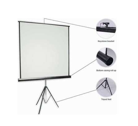 Portable 60 inches Projection Screen image 3