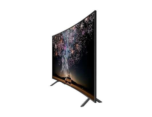 65 inch Samsung HDR 4K UHD Smart Curved LED TV UA65RU7300K 2019 MODEL image 1