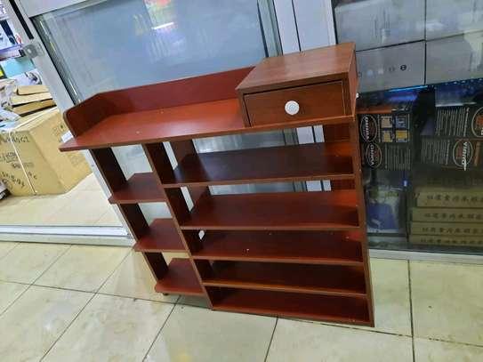 6 tier wooden shoe rack image 2