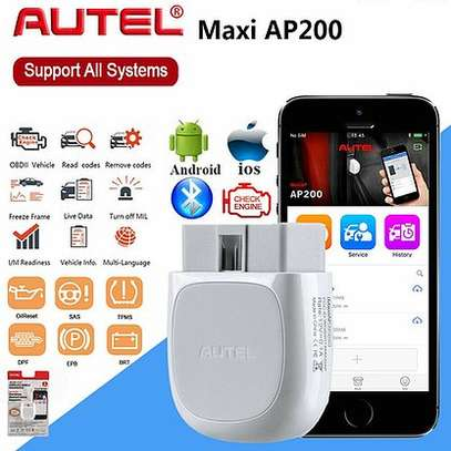 car diagnostic kit  Autel AP200 OBD2 Scanner Bluetooth Adapter