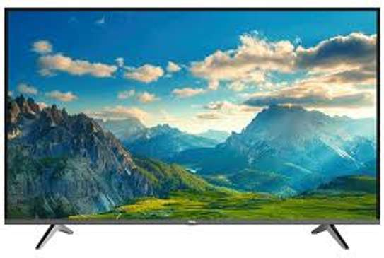 TCL 55'' 4K ULTRA HD AI-IN ANDROID TV, YOU-TUBE, BLUETOOTH P617-Black image 1