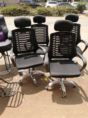 OFICE CHAIRS WITH HEAD REST image 1