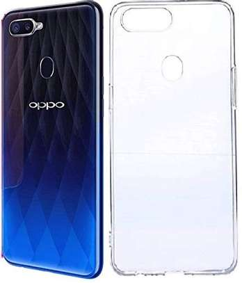 Clear TPU Soft Transparent case for Oppo F9 F9 Pro image 1