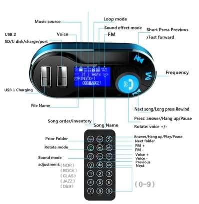 Blue tooth car transmitter kit image 5