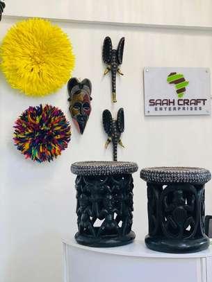 Bamileke Juju Hats for Wall Hangings image 4