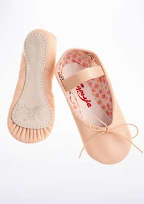 Kids leather ballet dance shoes and tutus