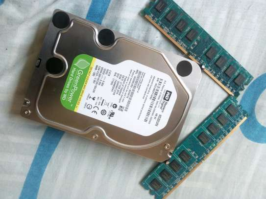 2TB hardisk and two 2GB RAM image 2