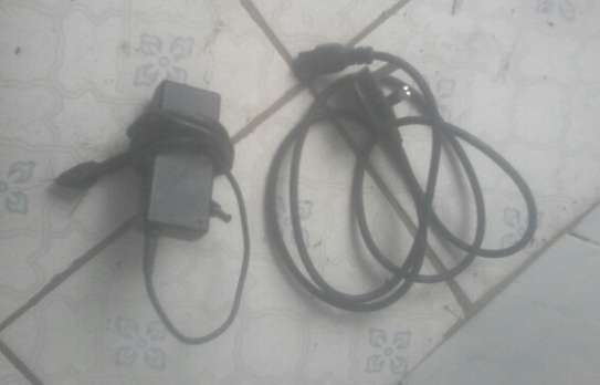 laptop charger by Dell (big pin)