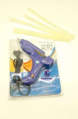 Hot Melt Glue Gun with 5 Glue Sticks image 4
