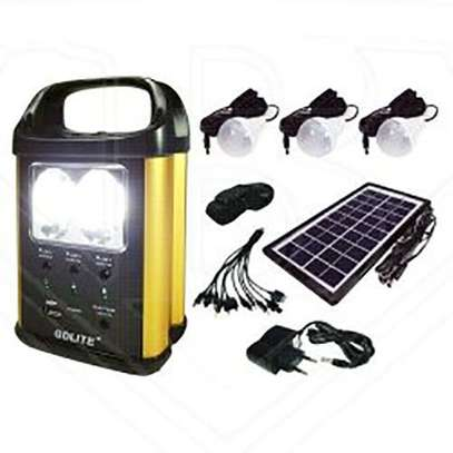 GD-8131A Solar Lighting System - Black