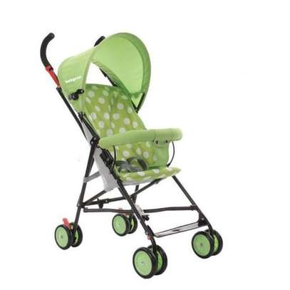 Green lightweight Foldable Baby Stroller/ pram/push chair/buggy image 2