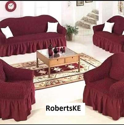 turkish stretchable sofa cover image 1