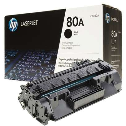HP 80A (CF280A) Original LaserJet Toner Cartridge Black image 1