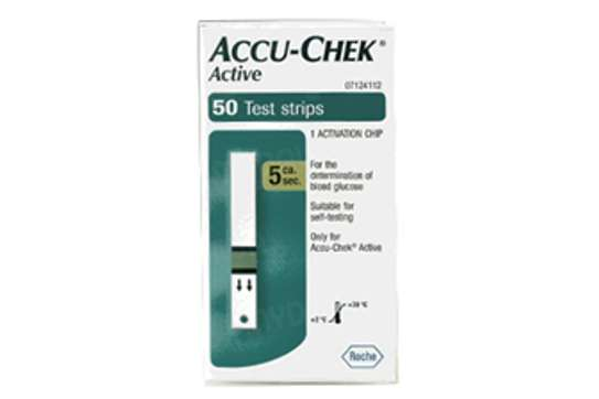ACCU-CHECK ACTIVE TEST STRIPS 50S image 1