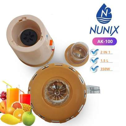 Nunix AK-100, 2 In 1 Blender With Grinding Machine, 1.5L image 3