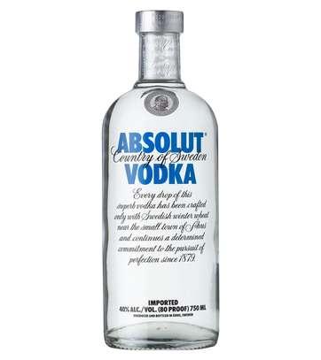 Absolut Blue Vodka 40% 75cl 750ml image 2