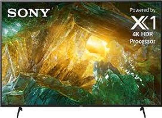 "SONY 55"" 4K UHD ANDROID TV,ALEXA VOICE CONTROL,WI-FI,NETFLIX,YOUTUBE-55X800G image 1"