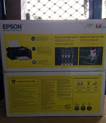 Epson L3111 - 3 in 1 multifunctional color printer - New image 3