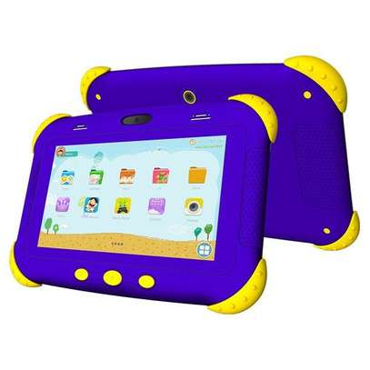 "X Tigi Kids7 Pro Children Tablet - 7.0"" - 16GB - 1GB -2MP - 3500mAh- Android 8.1- Dual SIM image 2"
