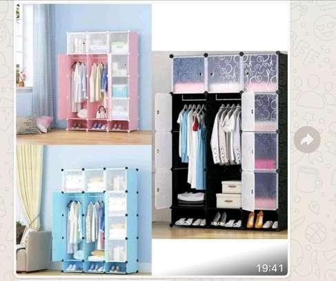Portable Plastic wardrobe image 11