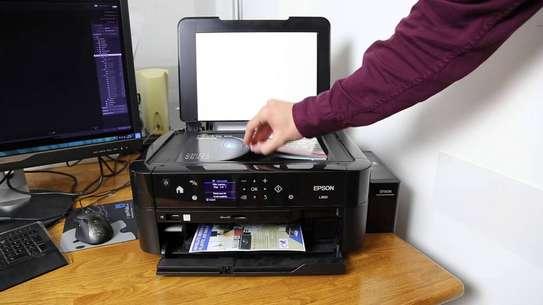 CD/DVD printing Epson L850 PRINTER image 1