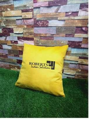throw pillows plain yellow image 1