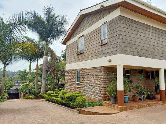 Furnished 4 bedroom house for rent in Gigiri image 4