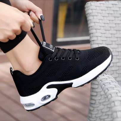 Fashion Black Sneakers image 1