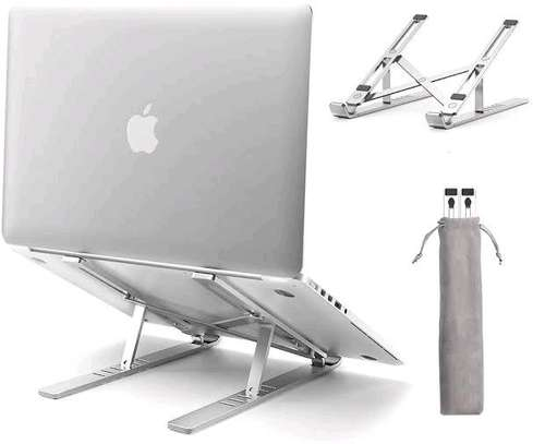 Notepad , laptop and tablet foldable stand image 2