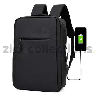 Quality Anti-Theft Laptop Backpack With USB Charging Support image 2