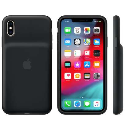 iPhone XS Max Smart Battery Case - Black image 1