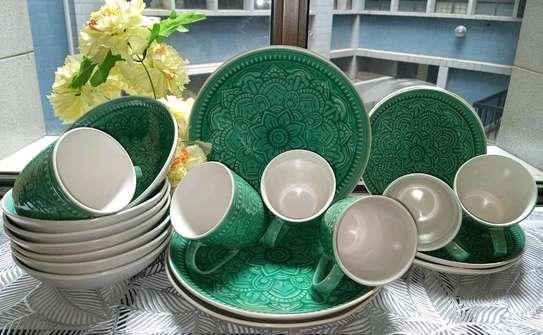 24pcs Ceramic Dinner Set image 5