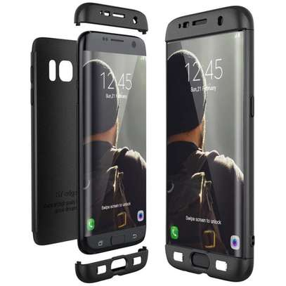 360 Degree Full Body Protection Phone Case For Samsung Galaxy S7 Edge Ultra-thin Case image 3