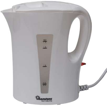 CORDED ELECTRIC KETTLE 1.7 LITERS WHITE- RM/399 white image 1