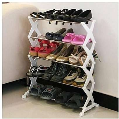 5 Tier Portable Shoerack image 2