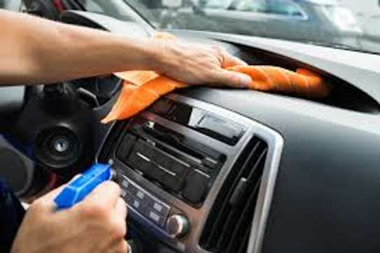 Vehicle interior cleaning image 1