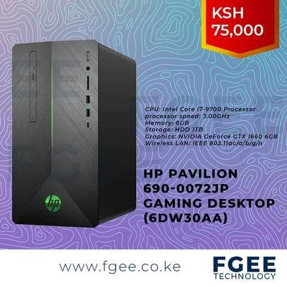 HP Pavilion 690-0072jp Gaming Desktop core i7 9700 3.0GHz 8GB RAM 2TB HDD Storage 6GB Nvidia GeForce GTX 1660 Graphics card (6DW30AA)