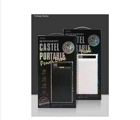 10,000mAh Fast Charge LED Display Power Bank - Castel Proda image 1