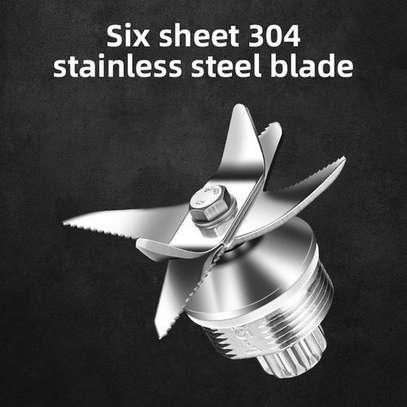 silver crest High Power Food Processor Electric Blender-3000WTTS image 2